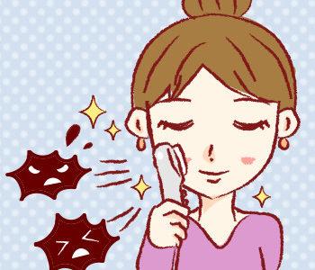 イオン導出はイオンの力で肌の老廃物を引き付け、除去するクレンジング美容