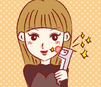 レーザー美顔器はターンオーバーを促しシミ・シワに効果的!